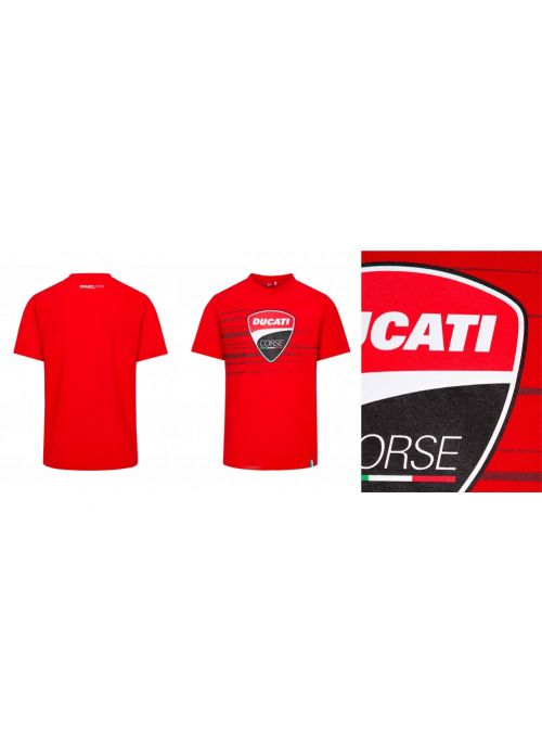 Ducati Corse T-Shirt Red