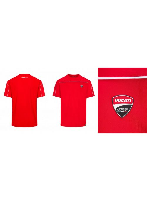 Ducati Corse Mesh T-Shirt Red