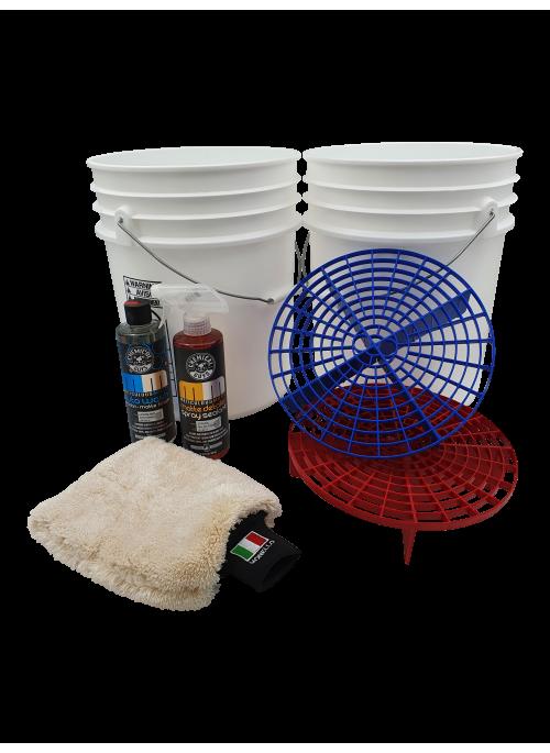 Two bucket matt wash discount pack