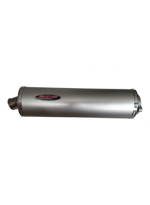 Bos Oval Aluminium Uitlaat Honda CBR929 CBR954 Fireblade