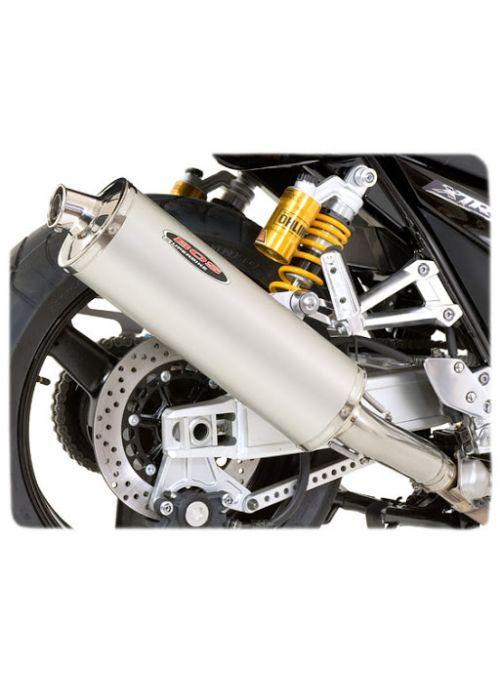 Bos Oval Aluminium Exhaust Suzuki GSXR600 GSXR750 SRAD