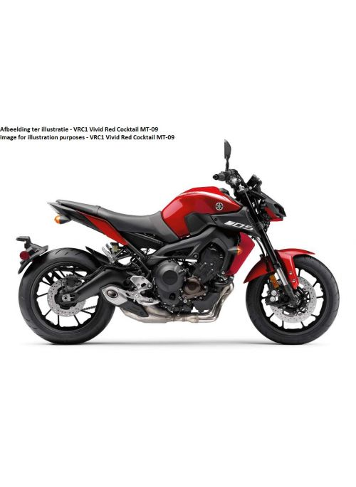 Ermax Seatcover Yamaha MT-09 2018-2019 VRC1 Vivid Red Cocktail