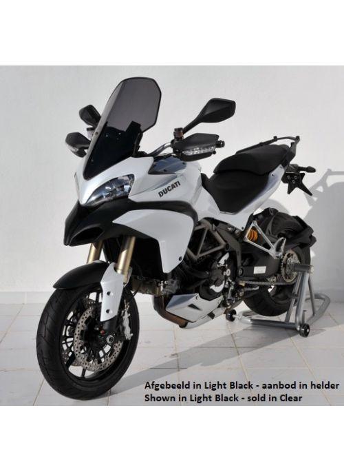 Ermax helder hoog windscherm (+10cm) Ducati Multistrada 1200 / 1200S 2010 2011 2012