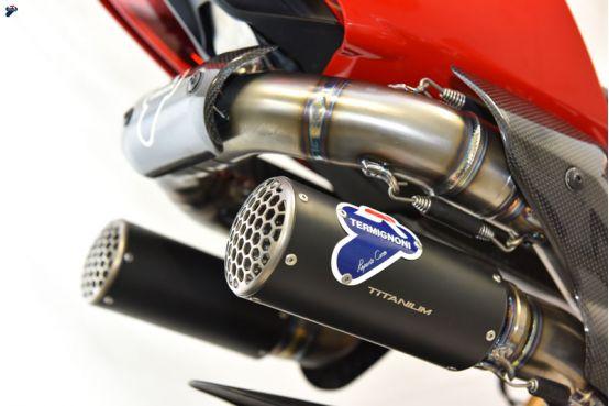 Termignoni RHT Full Titanium Exhaust System Ducati Panigale V4 2018+