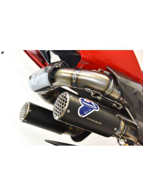 Termignoni RHT volledig Titanium uitlaatsysteem Ducati Panigale V4 2018+