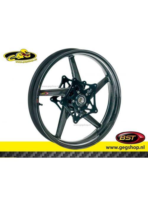 """BST Carbon Voorvelg Black Diamond 3,5 x 17"""" Aprilia RSV Mille R RSV1000R 2004"""