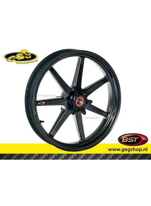 "BST Carbon Front Rim Black Mamba 3,5 x 17"" Bimota BB3"