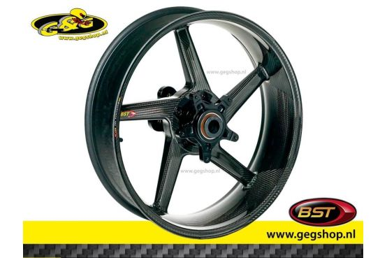 "BST Carbon Rear Rim Black Diamond 6,25 x 16,5"" BMW S1000R/RR 2010 t/m 2017"