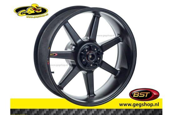 """BST Carbon Rear Rim Black Mamba 6,0 x 17"""" BMW S1000R/RR 2010 t/m 2017"""