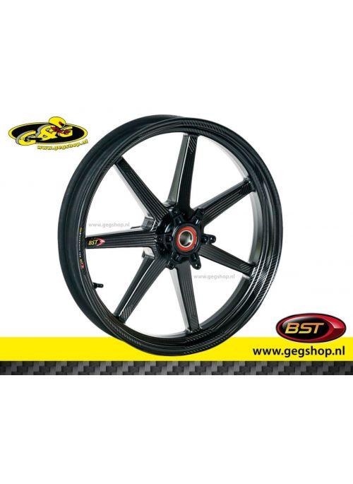 "BST Carbon Front Rim Black Mamba 3,5 x 17"" Honda CBR 1000RR Fireblade / SP1 2017 t/m 2019"