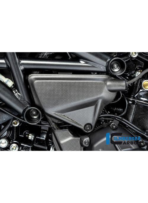 Cover under the frame left matt Ducati Diavel 1260 2019+