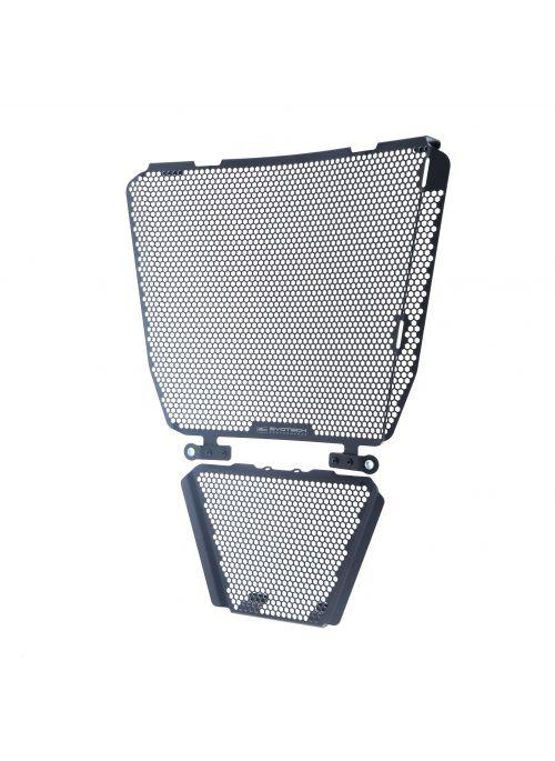 Radiator and Oil Cooler Guard Set Aprilia RSV4 2021+ Evotech Performance