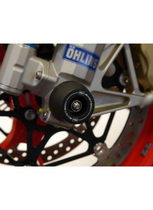 Front Fork Spindle Bobbins Aprilia RSV4 2021+ Evotech Performance
