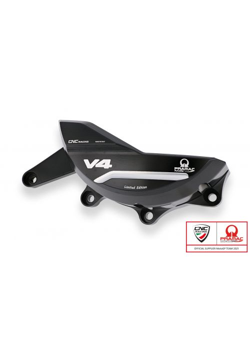 Generator Cover Protector Ducati Panigale V4 CNC Racing - Pramac Limited Edition