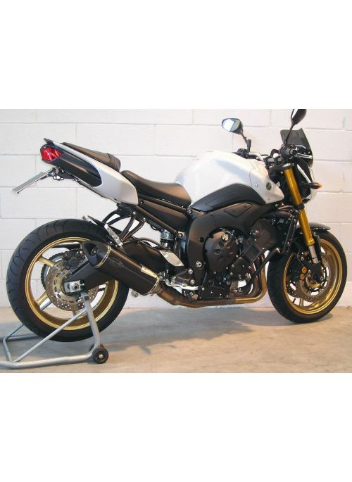 G&G Big Oval Pointed uitlaat Yamaha FZ8 en Fazer8