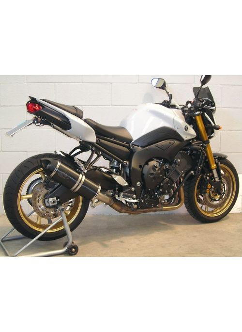 G&G Big Oval Sidemount exhaust FZ1