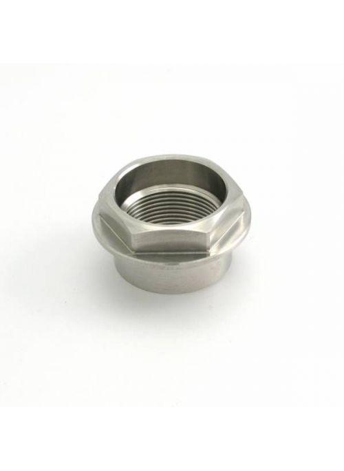 Front axle nut titanium