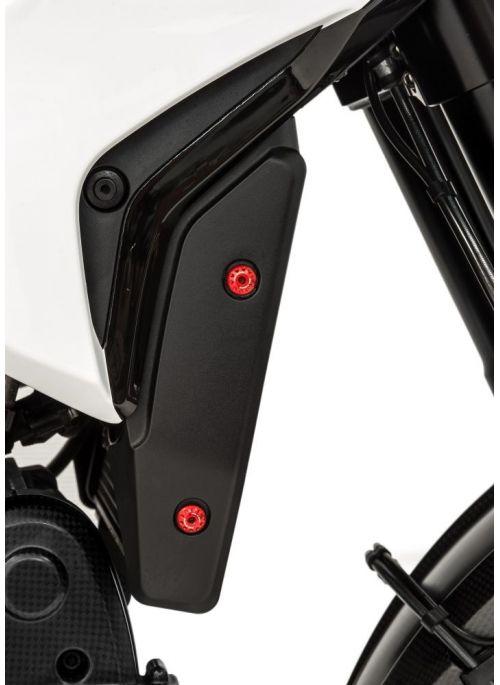 Radiatorcover boutenset - Hypermotard 821 en Hyperstrada 821