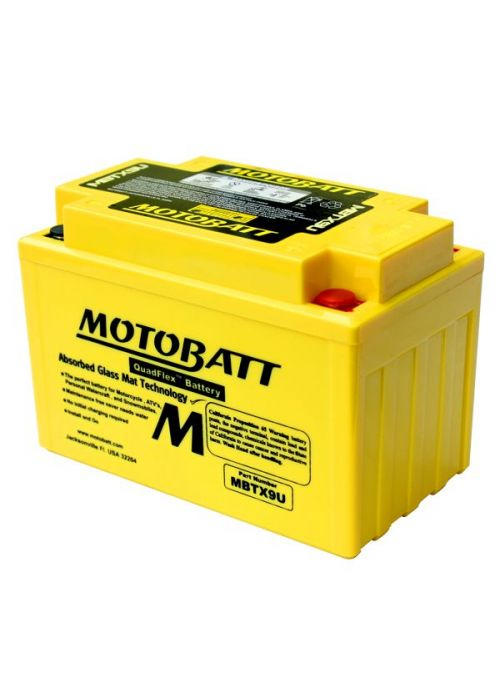 MotoBatt Battery MBTX9U 10,5Ah