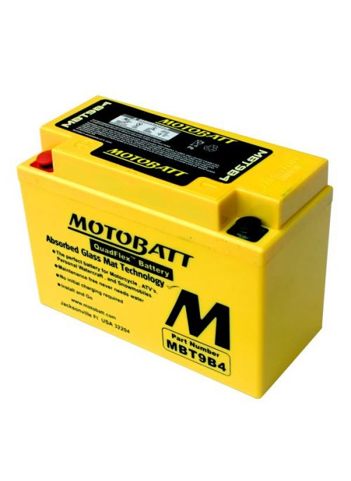 MotoBatt Battery MBT9-B4