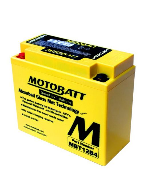 Motorbatt MBT12B4 Battery (11Ah)