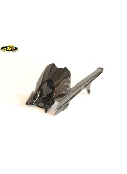 Carbon achterspatbord (hugger) Z800