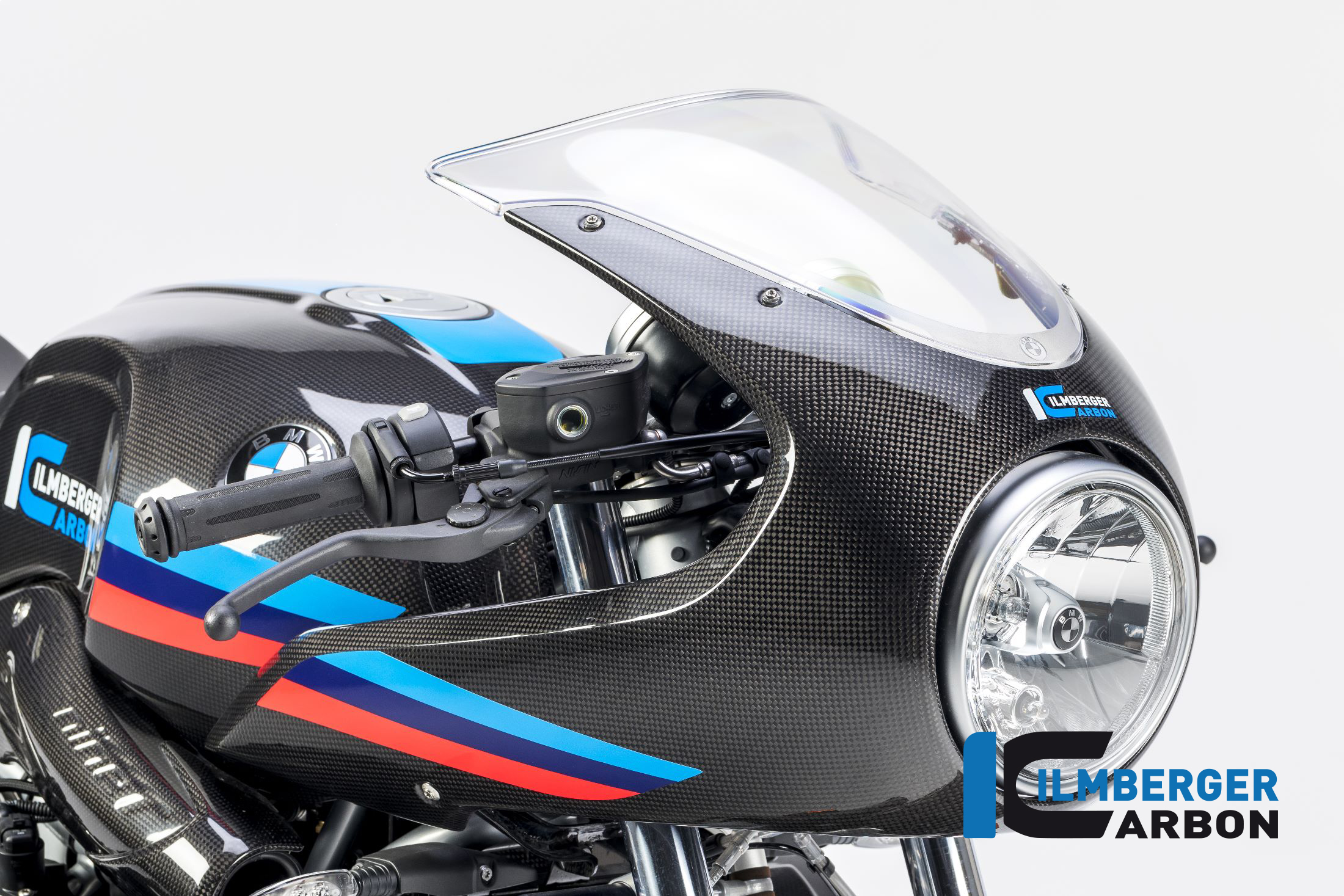GeGShop.nl - Ilmberger Carbon BMW R9T Racer voorkuip front cowl