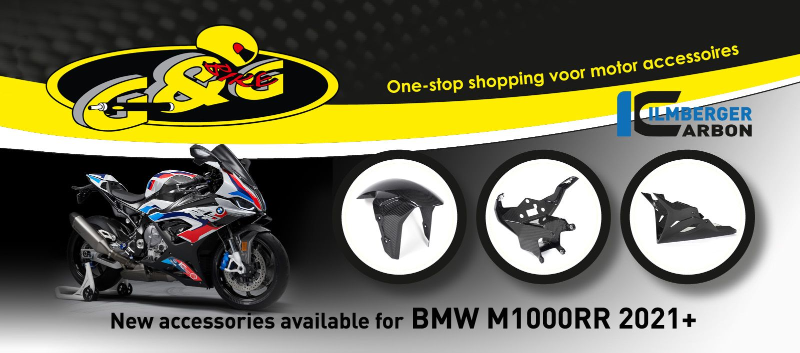 Ilmberger Carbon accessories BMW M1000RR 2021+
