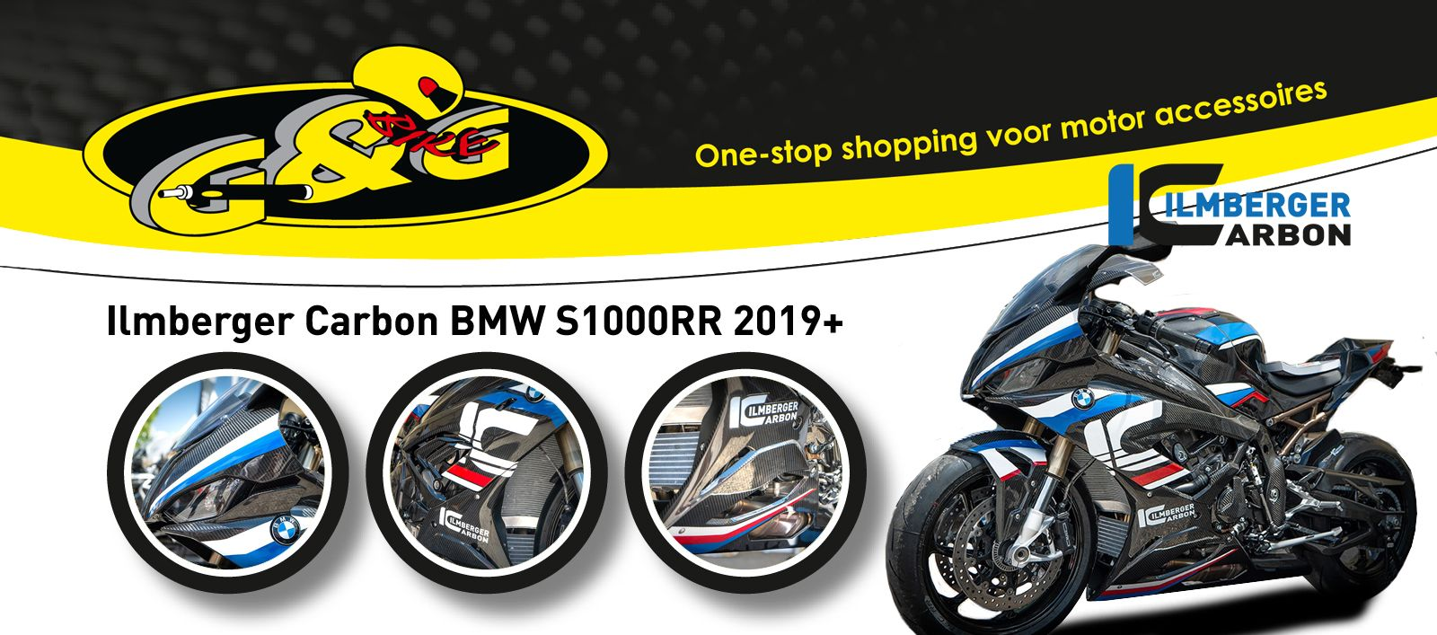 Ilmberger Carbon accessories BMW S1000RR 2019+